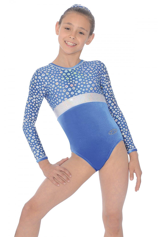 The Zone Poppy Long Sleeve Gymnastics Leotard  Amazon.co.uk  Sports    Outdoors 8431badb9ea