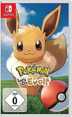Pokemon Let S Go Evoli Nintendo Switch Amazon De Games