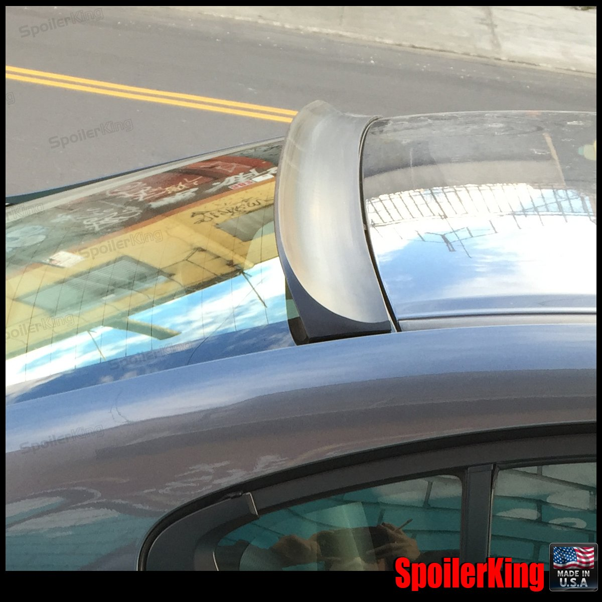 Compatible with Acura TSX 2009-2014 CU2 Spoiler King Roof Spoiler XL 380R