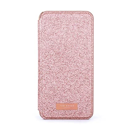 bd65b5a99 Amazon.com  Ted Baker Sparkly Fashion Mirror Folio Case for iPhone ...