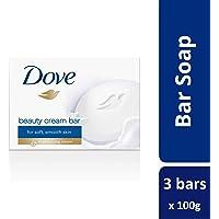 Dove Moisturizing Beauty Bar, 3pcs