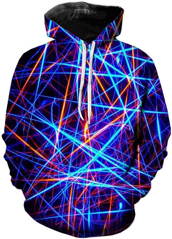 yinghuohuo Suéter con Capucha y suéter con Capucha y Efecto Envolvente 3D 001 XL: Amazon.es: Hogar