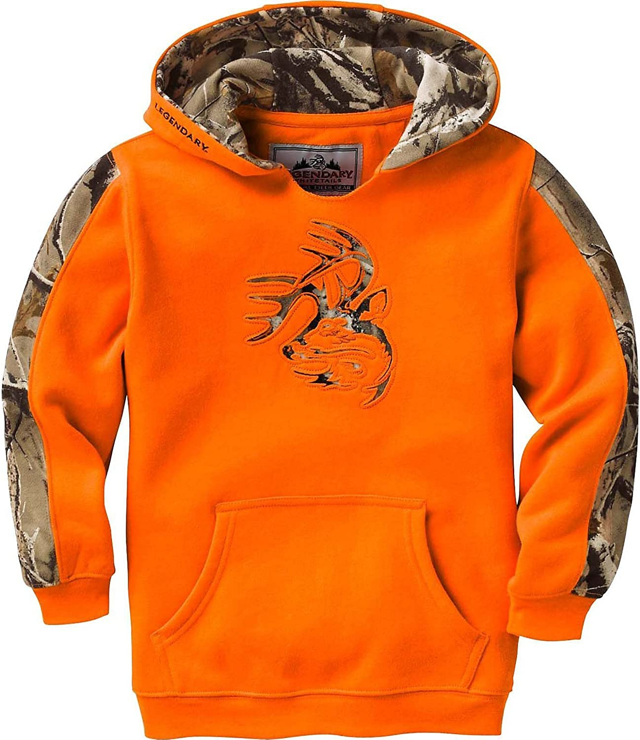 Legendary Whitetails Youth Camo Outfitter Hoodie: Clothing