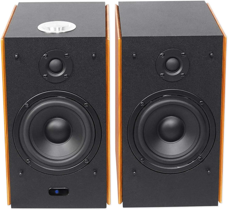 "Rockville HD5B 5/"" Powered Bookshelf Speakers Bluetooth Monitor Speaker System 2"