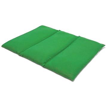 Saco térmico de semillas 40x30cm verde claro (Calor/Frio ...