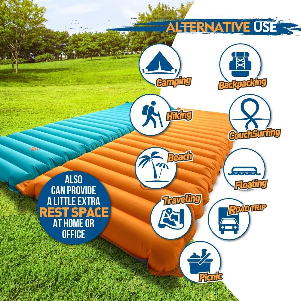 Amazon.com: ZOOOBELIVES Colchón de dormir hinchable de ...