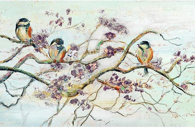 Wahazc Grande Soie 3d Peinture Murale Art Déco Fresque