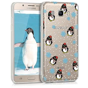 carcasa j7 2016 samsung pinguinos