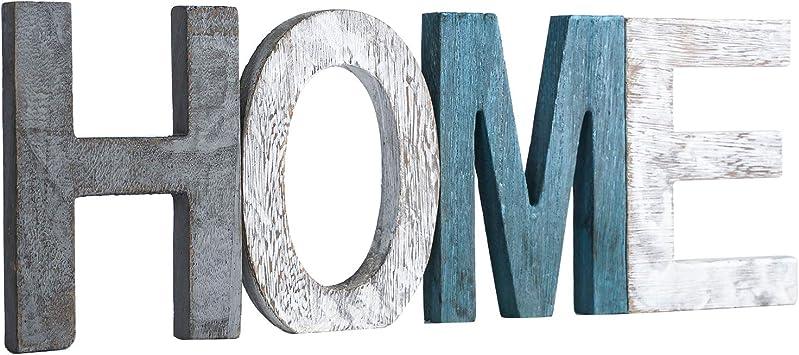 Amazon.com: Letrero de madera rústica para decoración del ...