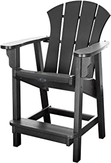 product image for Nags Head Hammocks Sunrise Counter Height Chair, Black