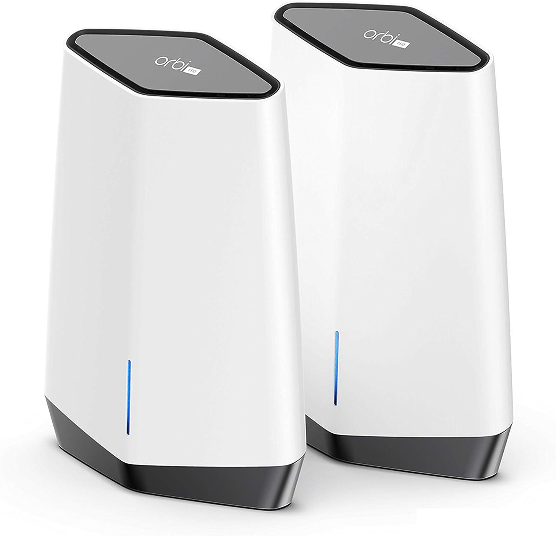 NETGEAR Système WiFi 6 Mesh Tri-Bandes Orbi Pro (SXK80)   Pack de...
