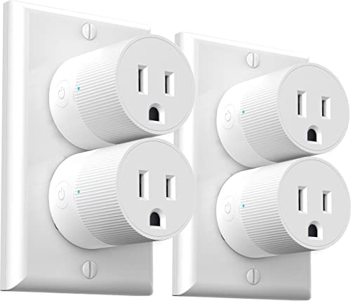 Smart Plug Amysen – A Certified Compatible with Alexa, Echo Google Home Only WiFi 2.4G