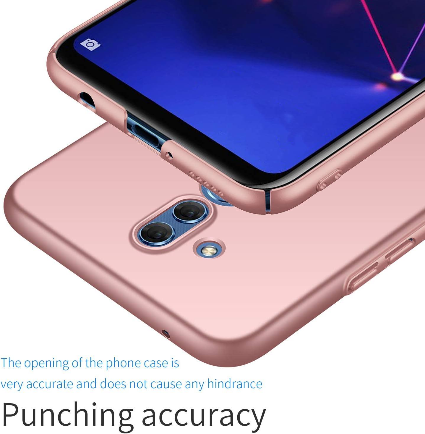 TenYll per Cover Huawei Mate 20 Lite, [Ultra Sottile Leggero] [Anti-Graffi], Ultra Leggero Protetto PC Duro Case Custodia per Huawei Mate 20 Lite -Oro ...