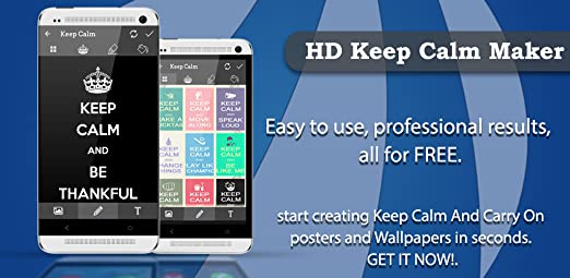 Amazoncom Hd Keep Calm Maker Appstore For Android