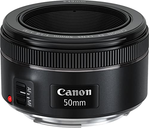Canon EF 50 mm 1.8 STM Lens - Black