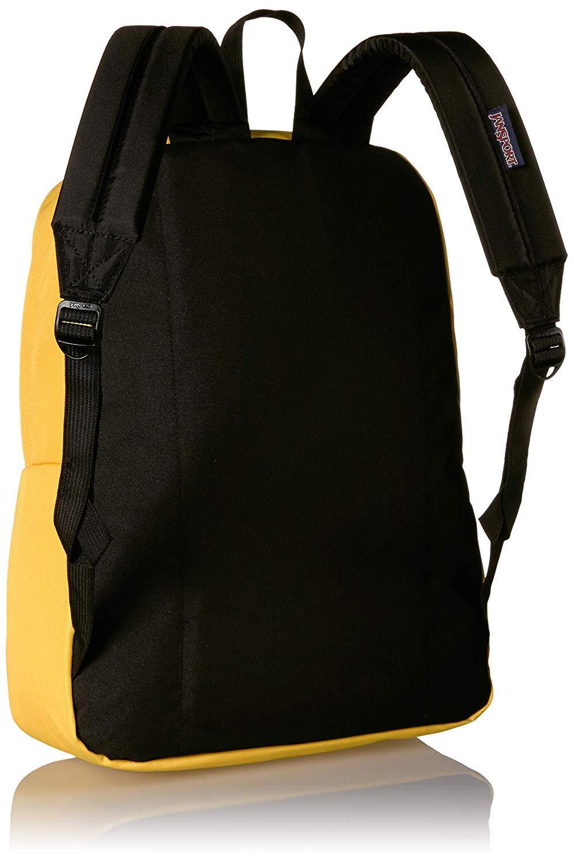 JanSport Superbreak Backpack - Lightweight School Pack, Yellow Spectra by JanSport