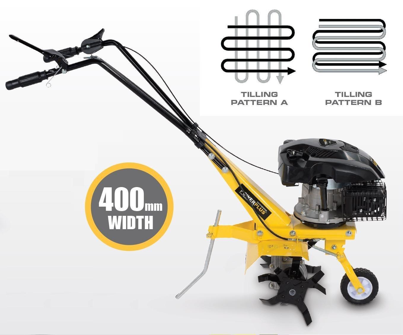 PowerPlus POWXG7204 Motocultor 140Cc: Amazon.es: Bricolaje y ...