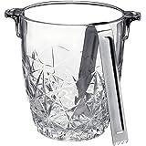 جردل ثلج روكو ديدالو مع لسان من بورميولي, clear, ice bucket