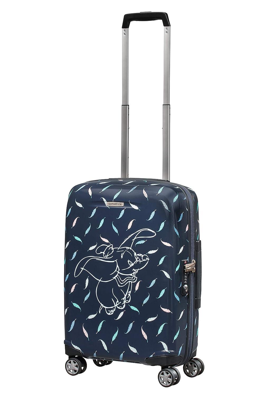 Samsonite Disney Forever Equipaje de Mano, 55 cm, 31 l, Azul (Dumbo Feathers)