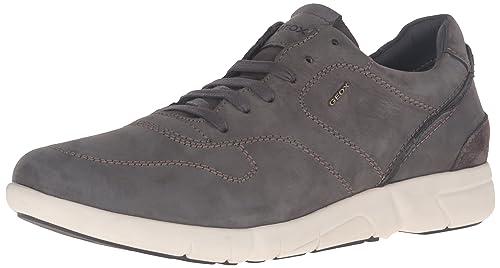 Geox U Brattley A, Zapatillas para Hombre, Gris (mudc6372), 44 EU