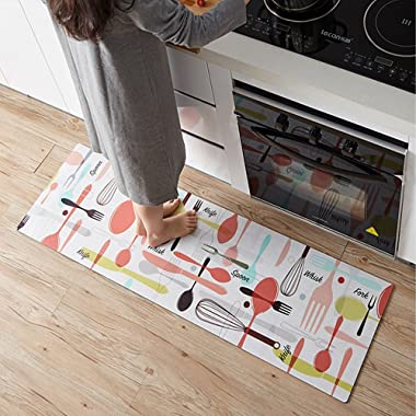 Ustide Anti-Fatigue Comfort Mat-17.7 x 59 inch Ergonomic Multi Surface, Non-Slip - Waterproof All-Purpose Luxurious Comfort - for Kitchen, Bathroom