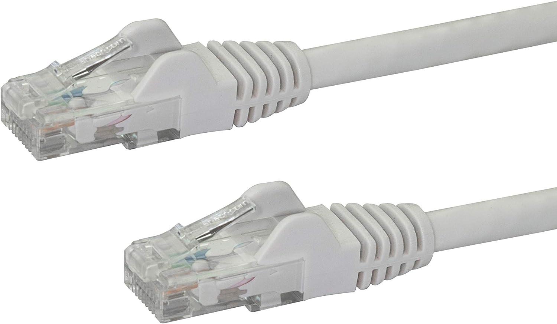 StarTech N6PATC2MWH - Cable Ethernet (Cat 6, 2 m), Color Blanco: Amazon.es: Informática