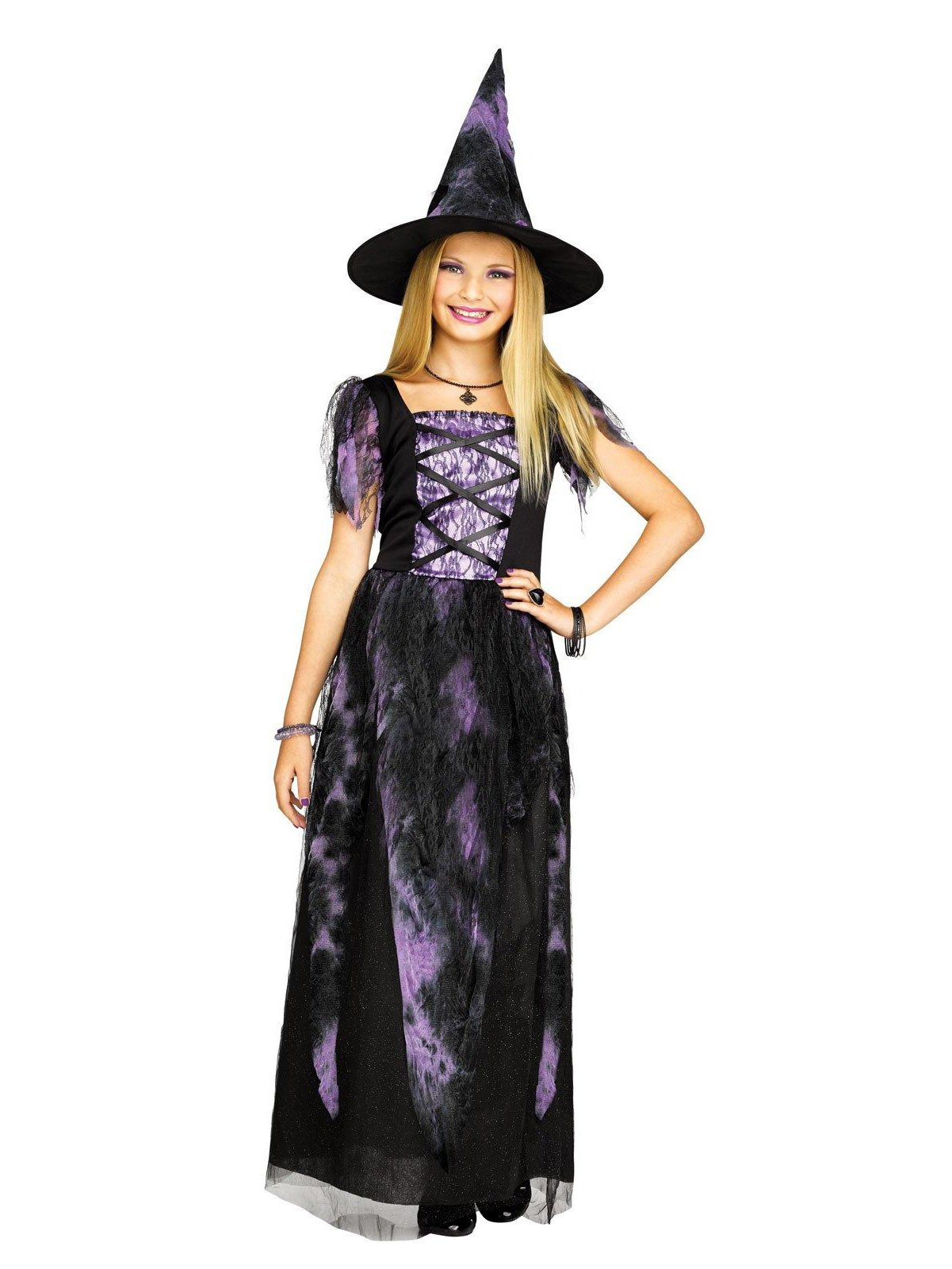 Starlight Witch Child Costume (Medium (8-10))