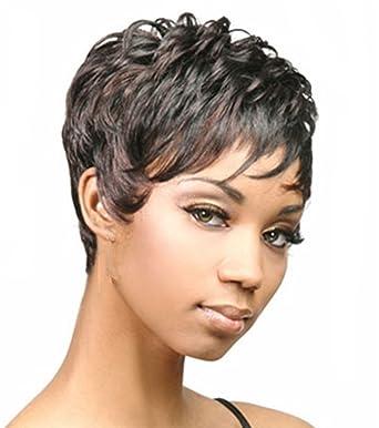 Die Chic Pixie Cut Synthetische Perücken Für African American Women