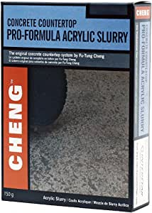 Acrylic Slurry for Concrete - Charcoal Color