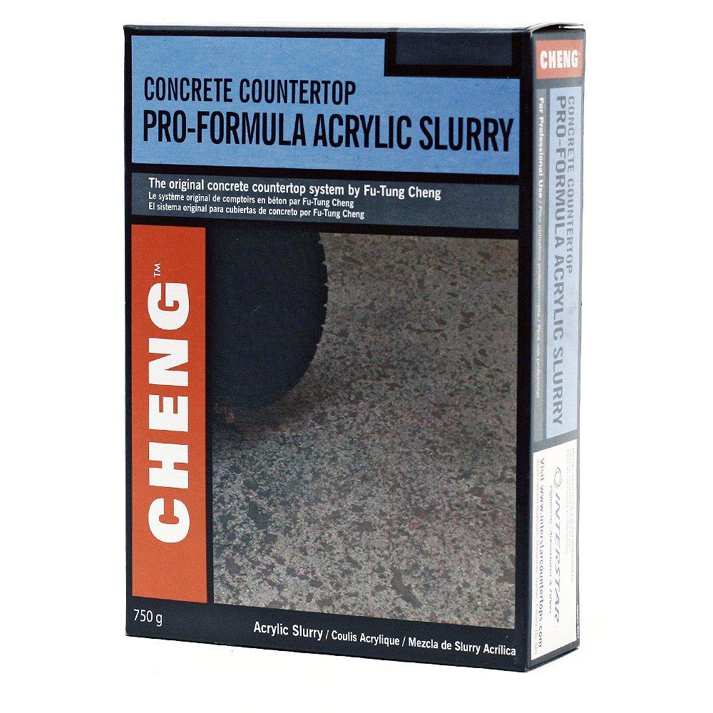 Acrylic Slurry for Concrete - Platinum Color