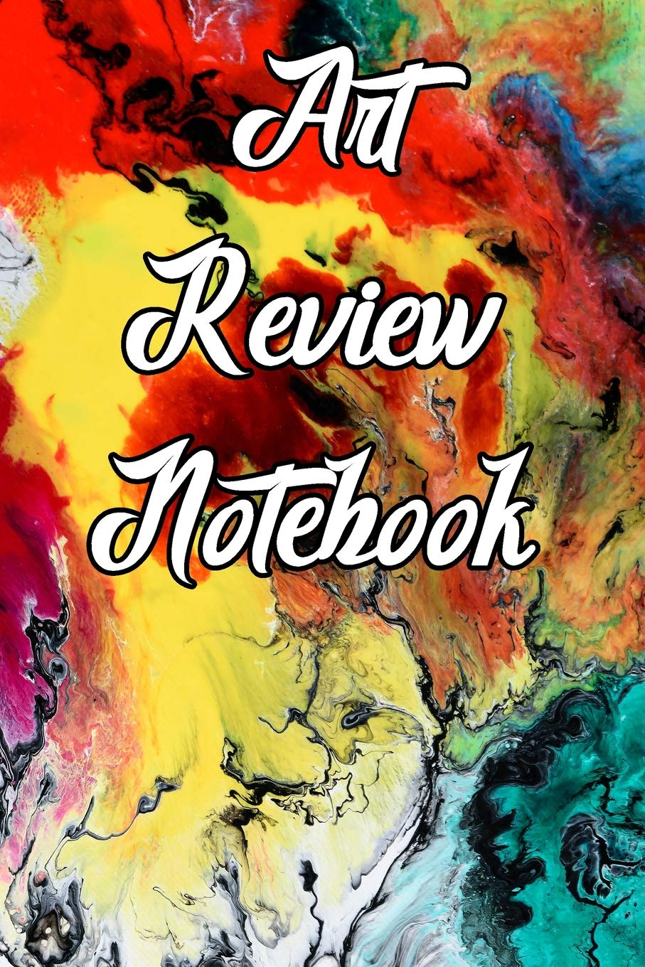 Art Review Notebook Record Notes Ideas Styles