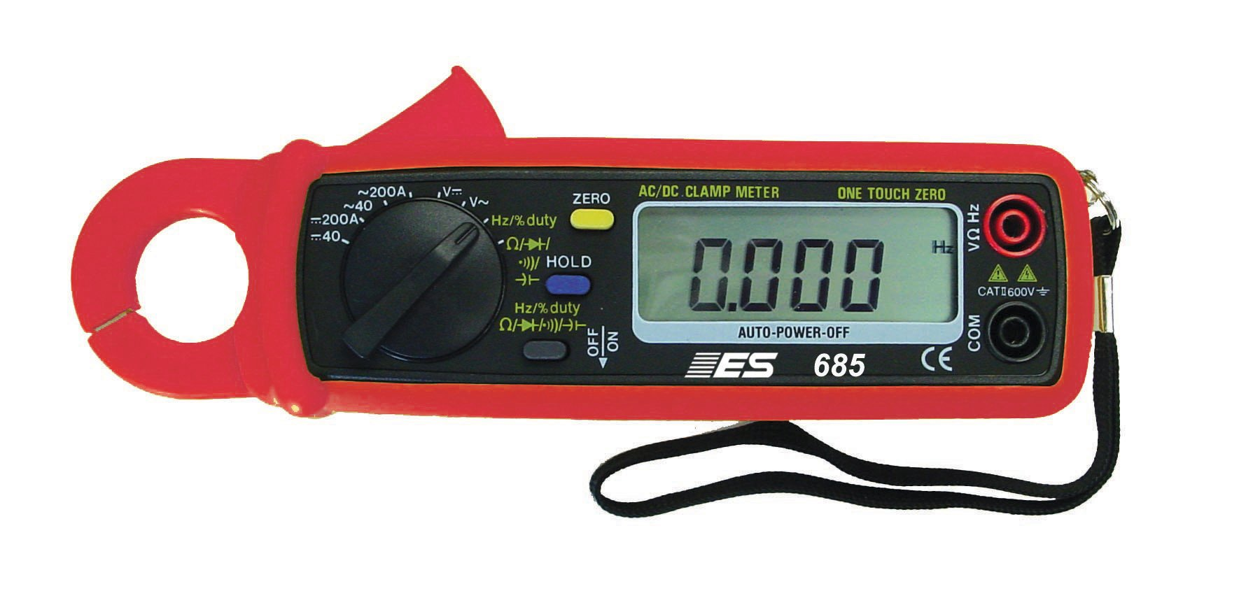 ESI 685 400 Amps DC/AC Current Probe/DMM with Frequency by Electronic Specialties (Image #1)