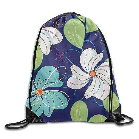 Kathleen cuatro Disco Flores Impreso divertido cara sonriente emoticono suave Casual mochila escolar libro bolsas mochila