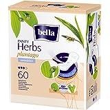 Bella Herbs Sensitive Panty Liners - 60 Pieces (Plantago)