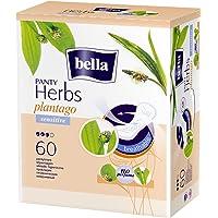 Bella India Herbs Sensitive Panty Liners - 60 Pieces (Plantago)