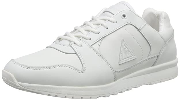 Le Coq Sportif Gaspar Leather Low, Sneakers Basses Homme - Blanc (Bright White), 40