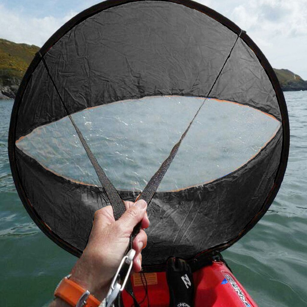 Kayak Vela Negra 42 a Favor Del Viento Accesorios De Kayak Paddle Viento Emergente Canoa