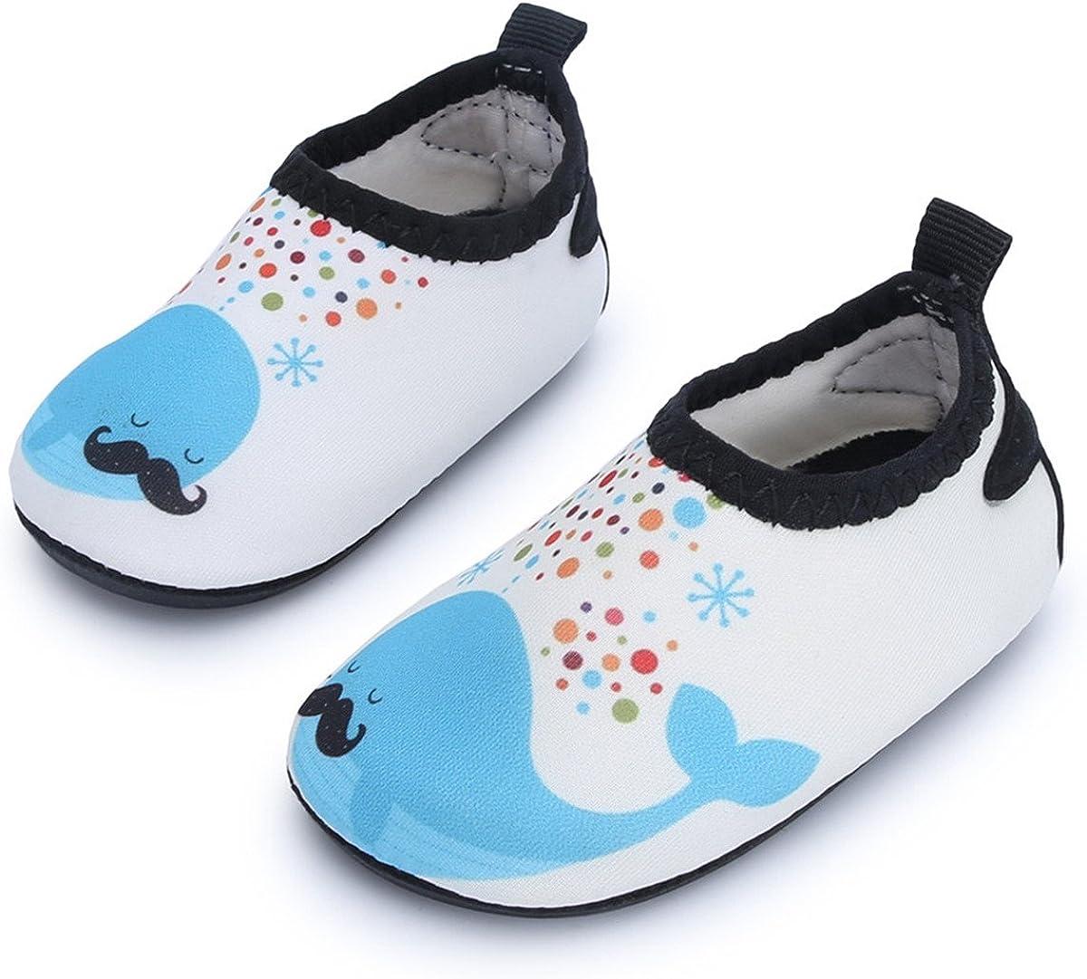 JIASUQI Baby Toddler Swim Water Shoes