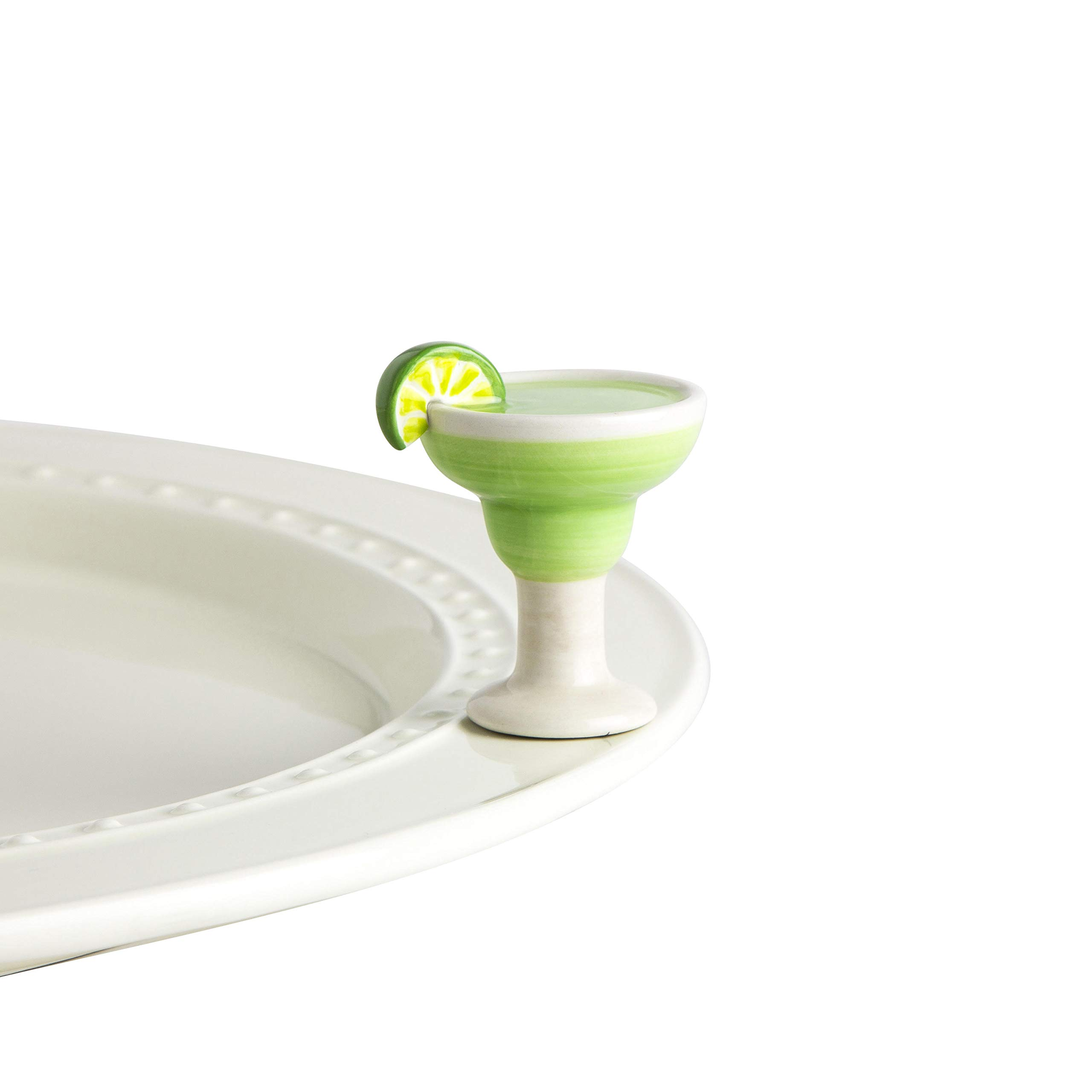 Nora Fleming Hand-Painted Mini: Lime and