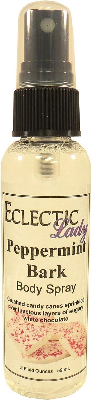 Peppermint Bark Body Spray, 2 ounces Eclectic Lady