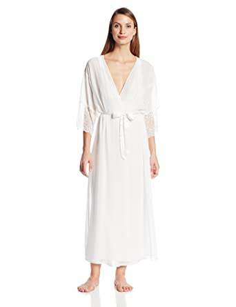 8418584321 Cinema Etoile Women s Satin Robe