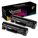 Canon 137 crg137 Comaptible Toner Cartridge (2 Black) 9435B001AA High Yield for Canon ImageClass MF216N MF227DW MF229DW MF212W MF217W MF249dw MF244dw LBP151dw MF236n MF247dw Printer -ValueColor