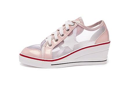 CAI Mocasines para mujer rosa rosa 38
