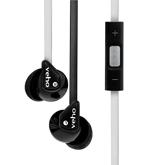 17 opinioni per Veho- Auricolari VEP-004-Z2BW 360 Z2 con isolamento acustico, filo antigroviglio