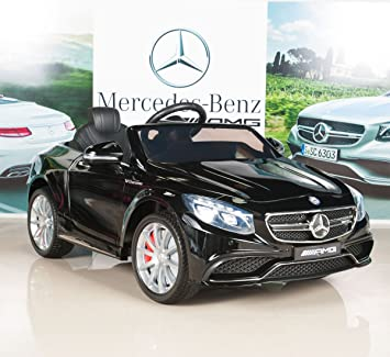 mercedes benz s63 kids 12v electric power wheels ride on car with rcremote