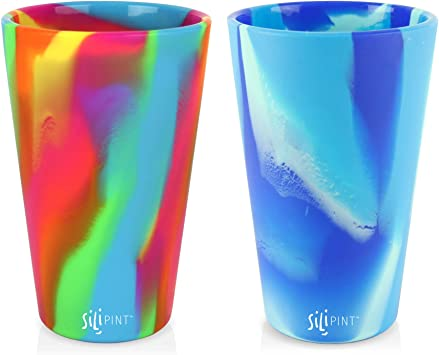 Silipint Silicone Pint Glass (Set of 2)