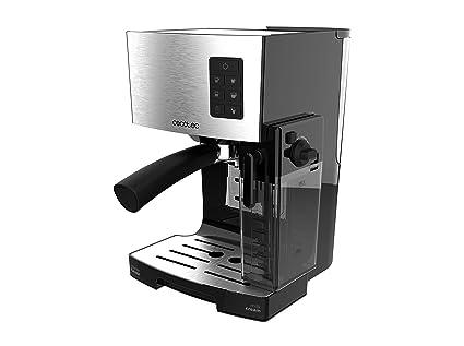 Cecotec Cafetera Semiautomática Power Instant-ccino 20. con Tanque de Leche. Cappuccino en