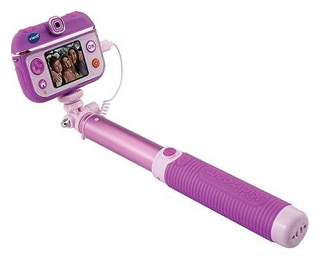 VTech - Selfie CAM Kidizoom para niños, cámara de Fotos, Color Morado, versión
