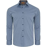 Johnny Bigg Doyle Check Shirt Big and Tall Large and Plus Sizes XL-8XL with Longer Length Options Long Sleeve