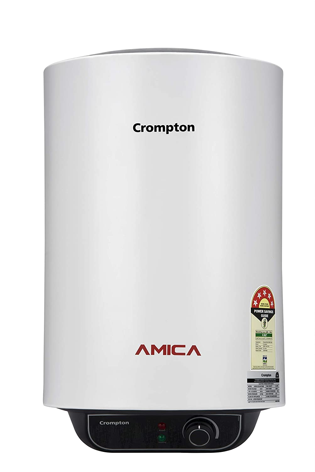 Crompton Amica ASWH-2025 25-Litre Storage Water Heater